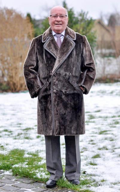 Bespoke seal fur coat -