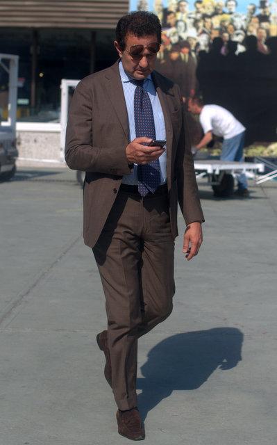 Brown Suits -