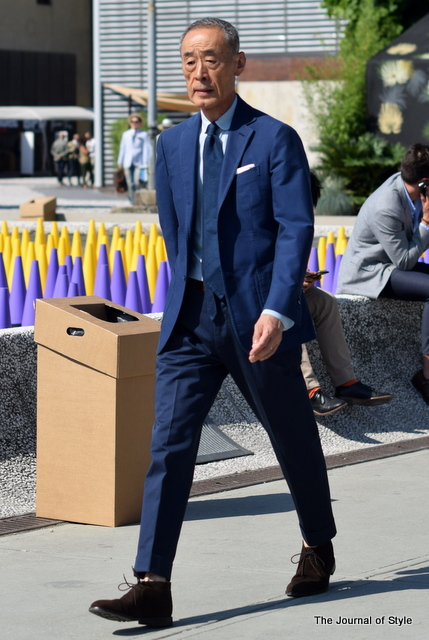 Old-mens-style-Navy-suit-navy-tie-Pitti-Uomo-The-Journal-of-Style