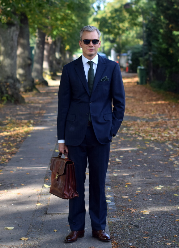 Bespoke-Blue-Suit-and-Brown-Edward-Green-Shoes-The-Journal-of-Style-2