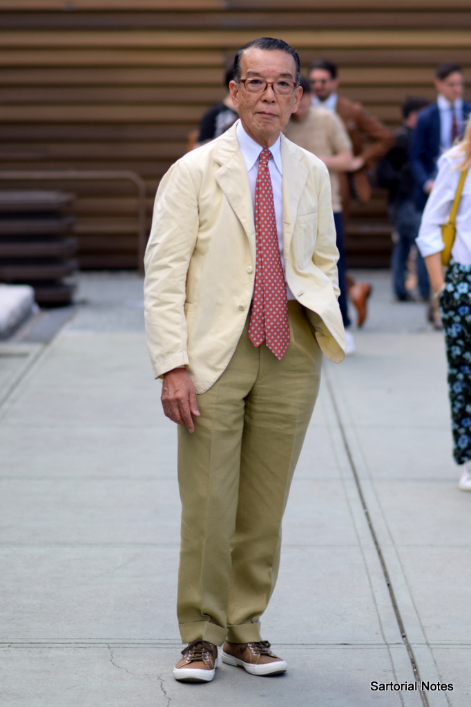 Advanced style in Pitti Uomo