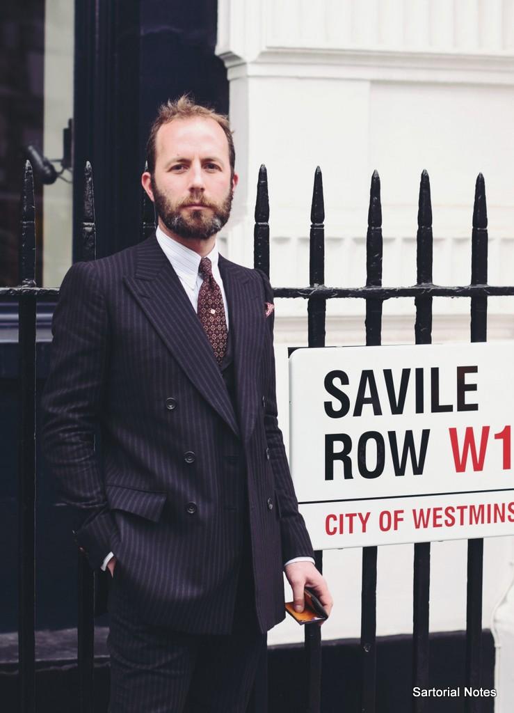 Savile Row Tailors, Davide Taub from Gieves