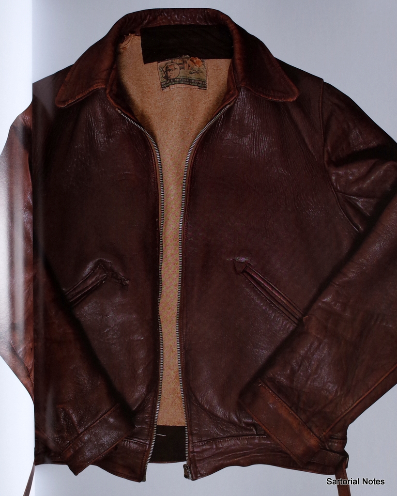 Aviator_leather_jacket_The_Vintage_Showroom_Sartorial_Notes