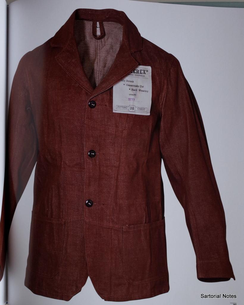 Brown denim vintage jacket_by_sartorial_Notes