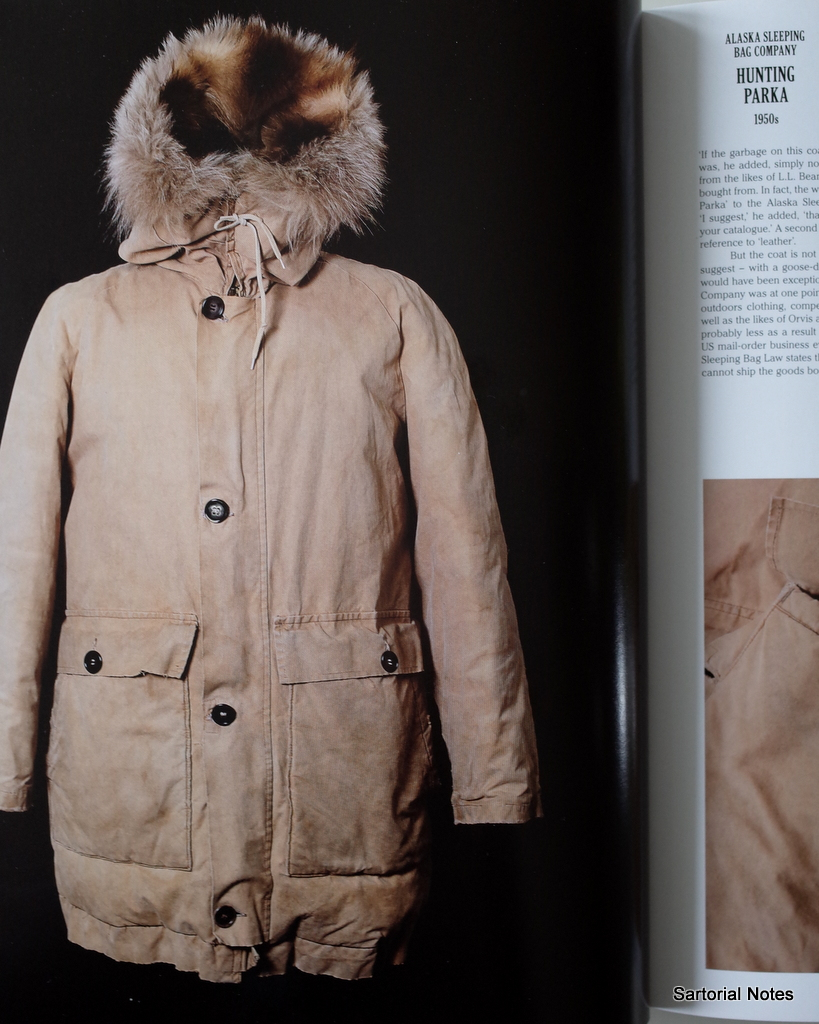 White winter parka Vintage Wear by_Sartorial_Notes
