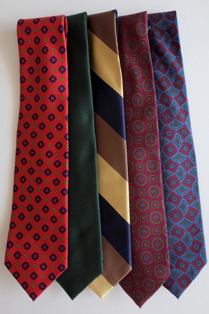 Adventurous Ties which are Not Garish