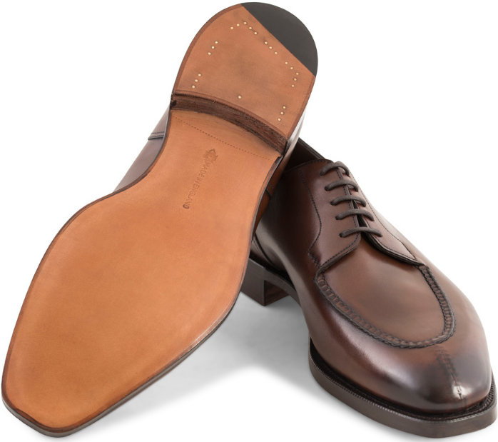 edward green dover split-toe shoes