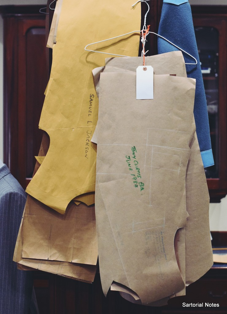 maurice sedwell savile row tailor_paper_pattern_by_torsten_grunwald