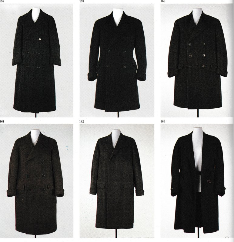 gabriele d'annunzio formal overcoats
