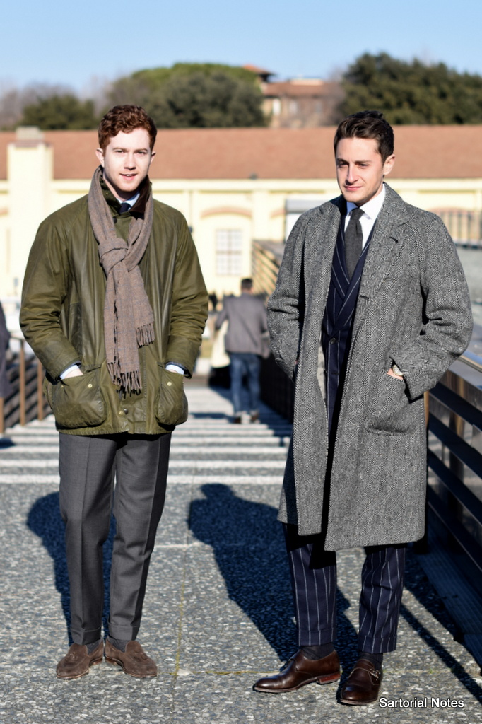 Classic Style from Pitti Uomo 91 in Florence