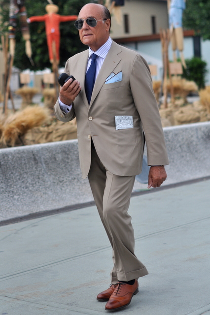 Summer suit style -