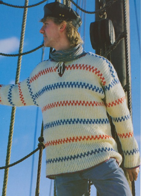Fisherman Sweater Men