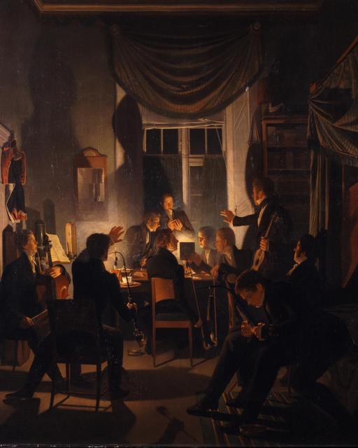Tobacco- come-together-1827-28-Wilhelm-Bendz