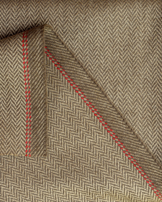 Brown-Herringbone-tweed-jacketing