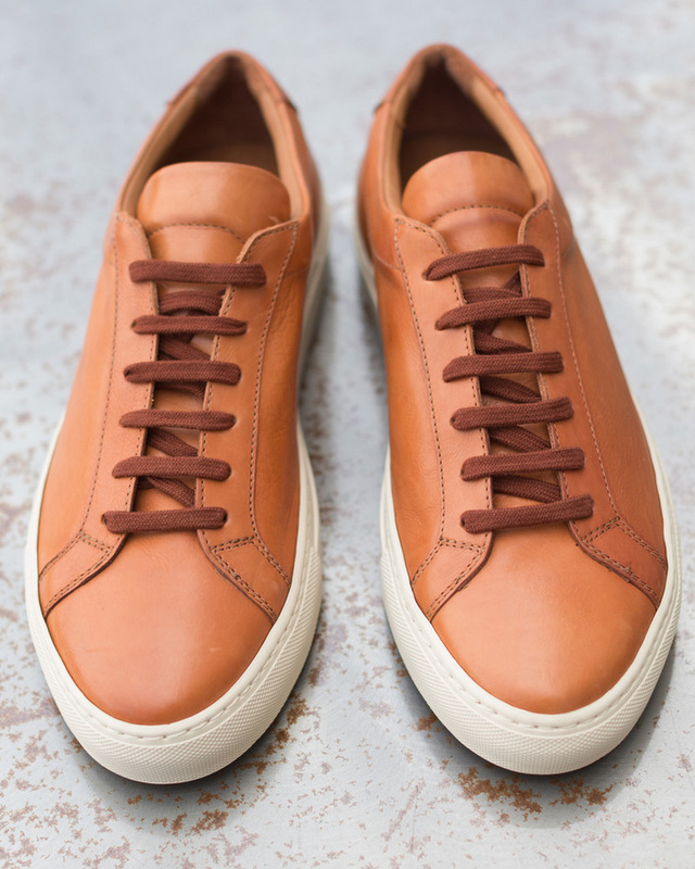 ee465506634bc American Gustin are selling a flawless pair of leather sneakers made in  Italy.