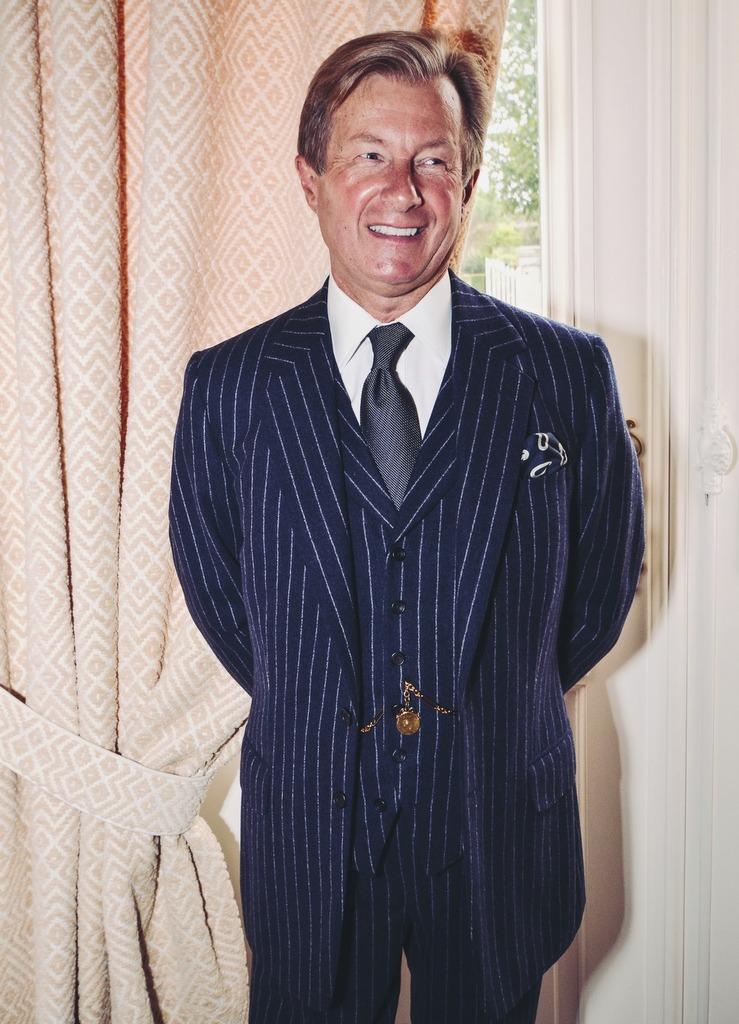 Suit by Malcolm Plews