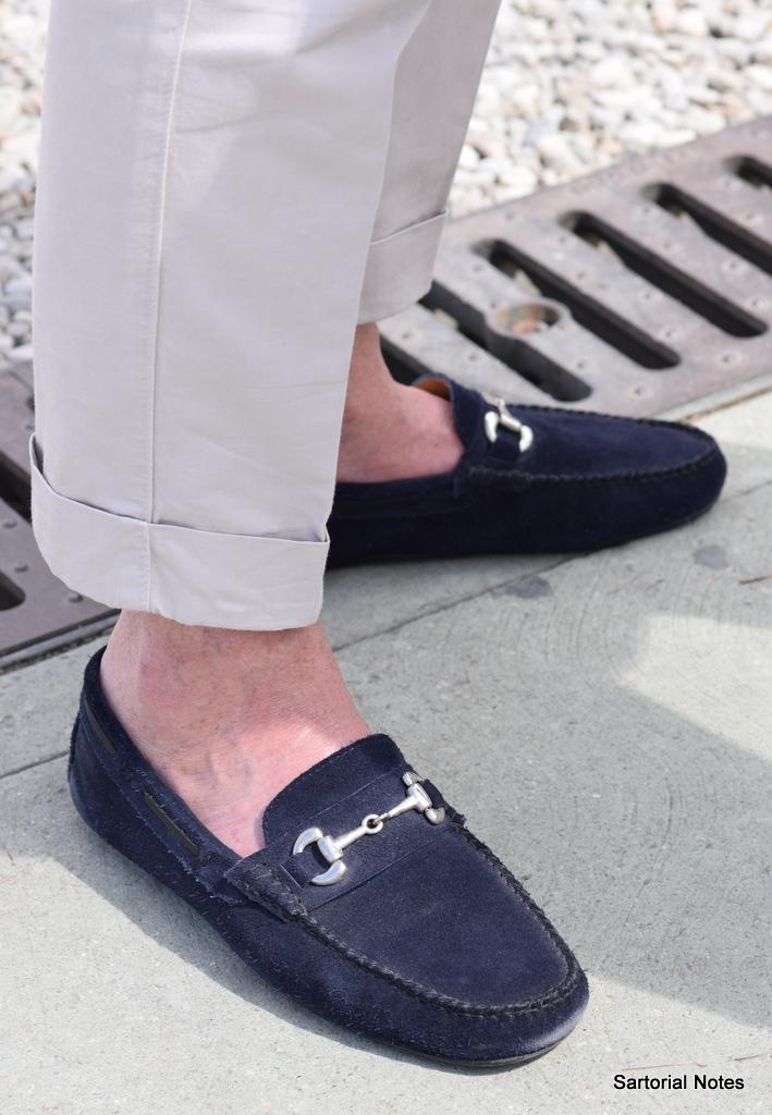 Gucci Horsebit Loafers in Pitti_Uomo by_Torsten_Grunwald