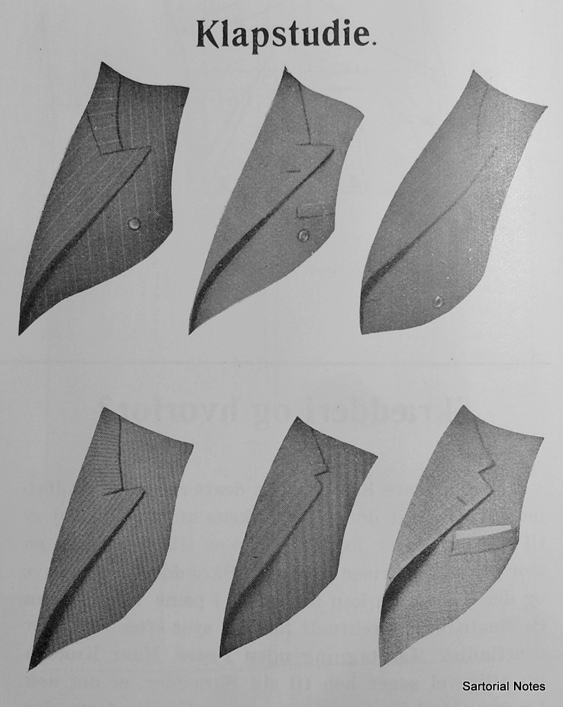 Suit Details in Lapels