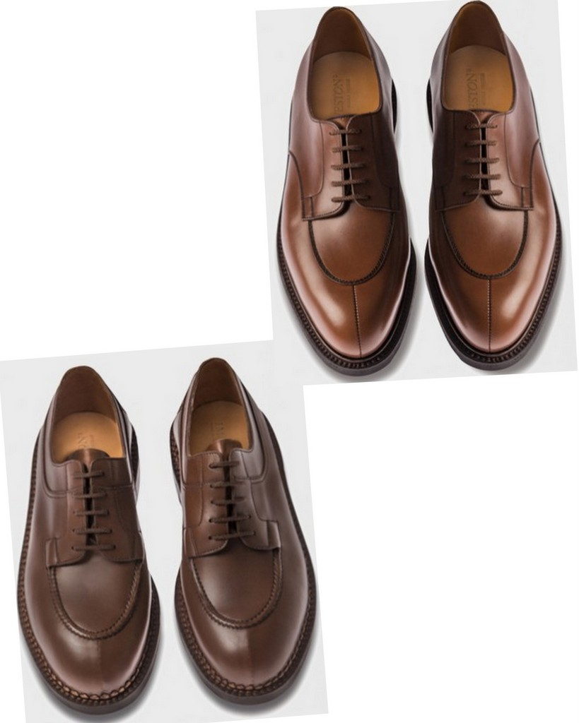 spli-toe-shoes from j m weston chasse_demi_chasse-brown_shoes