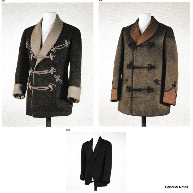 d'annunzio smoking jacket