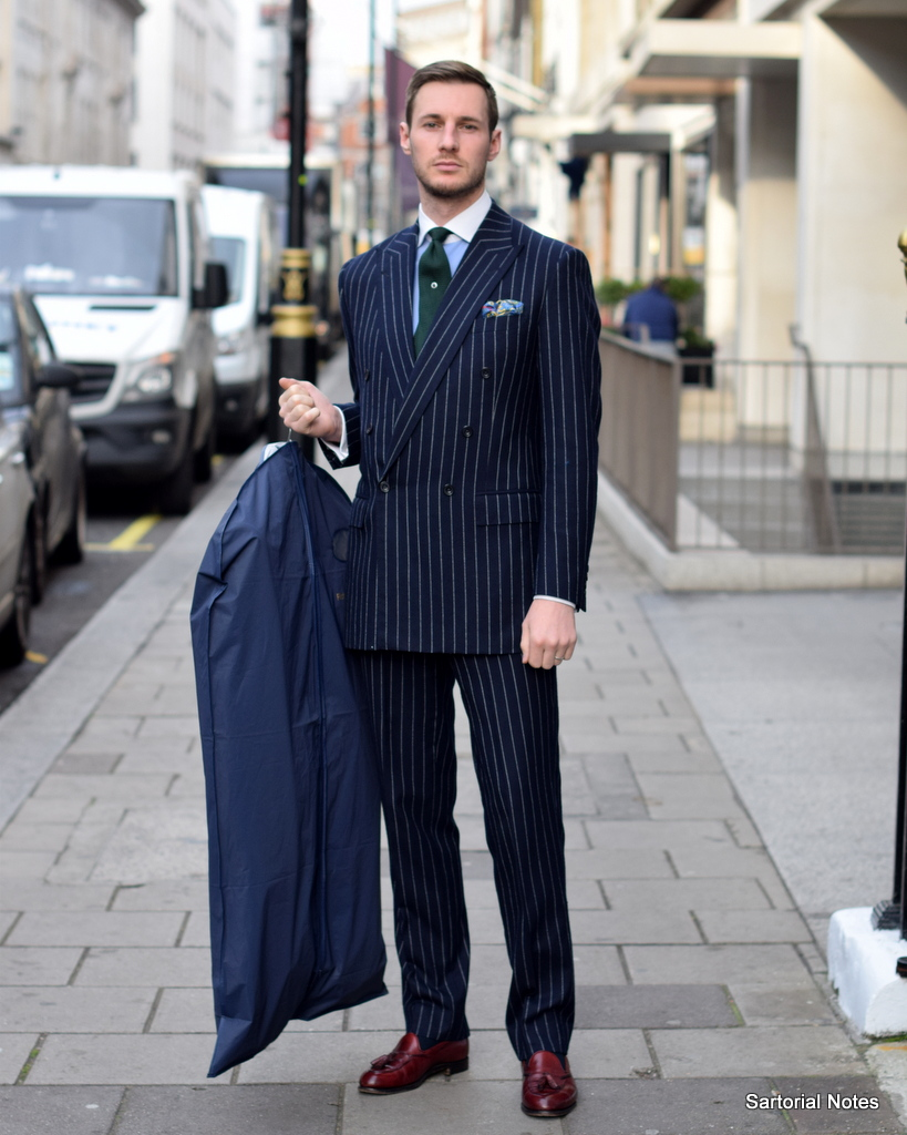 Apprentice on Savile Row in Style -
