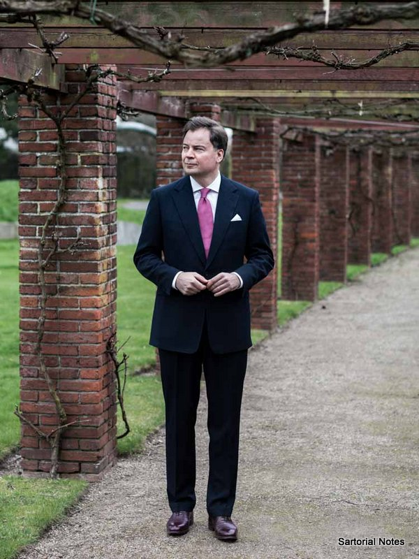 classic Savile Row suit