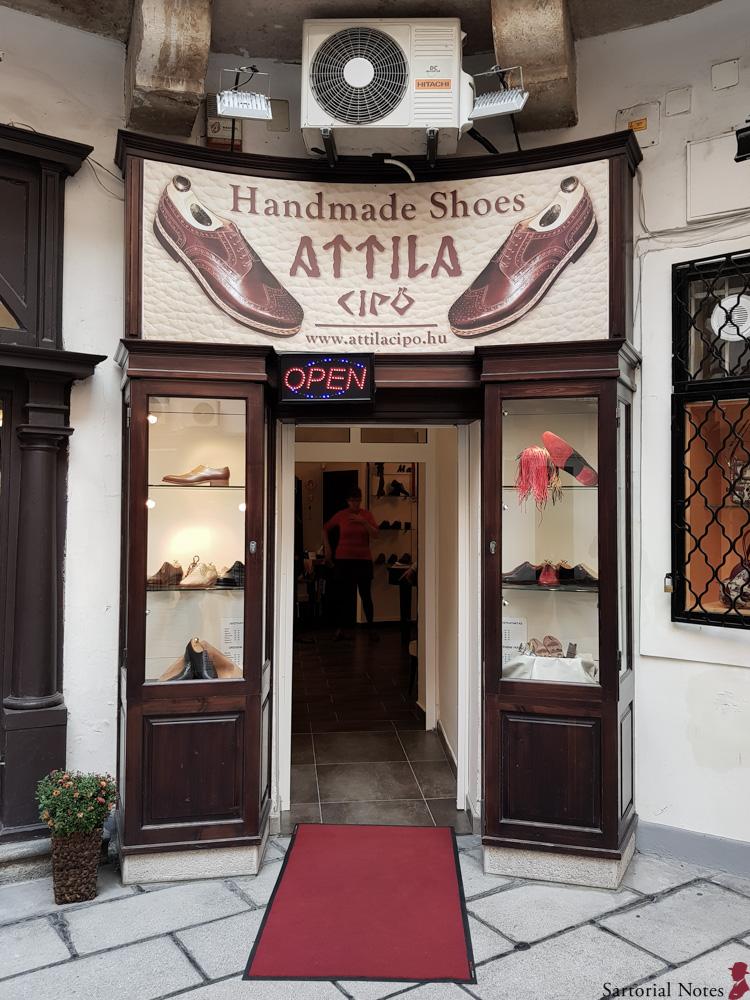 budapest bespoke shoes attila