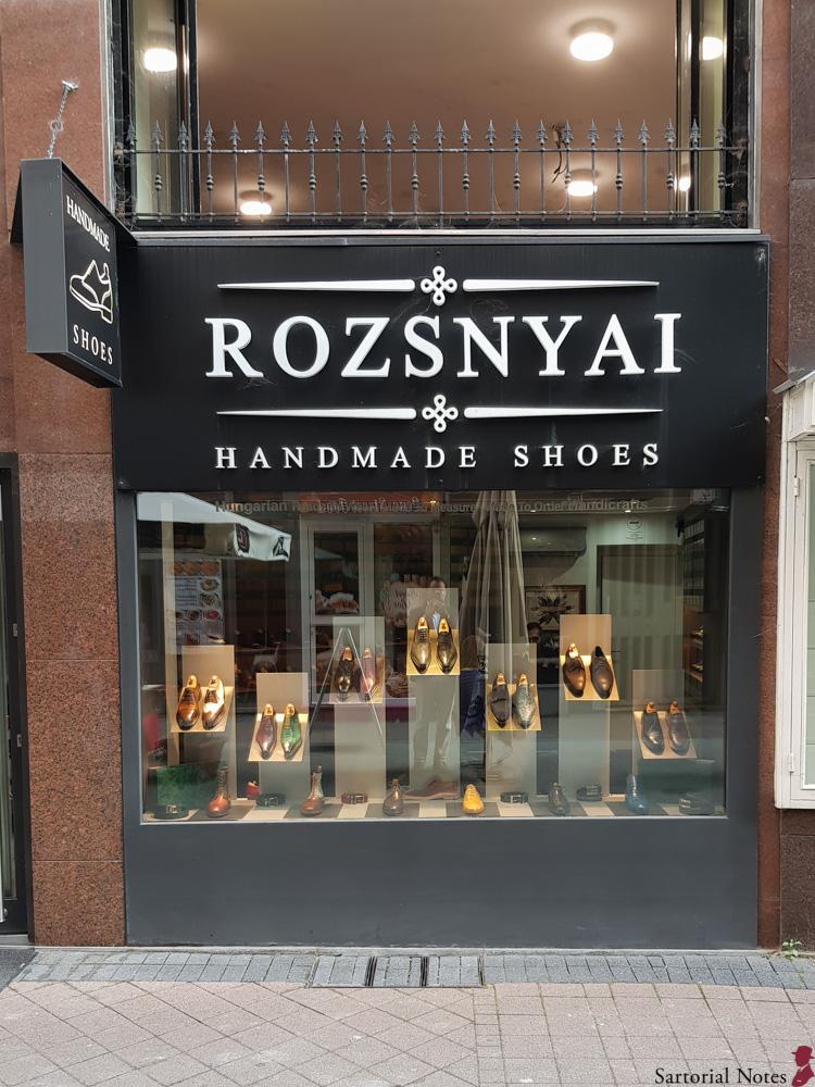 budapest bespoke shoes Rozsnyai