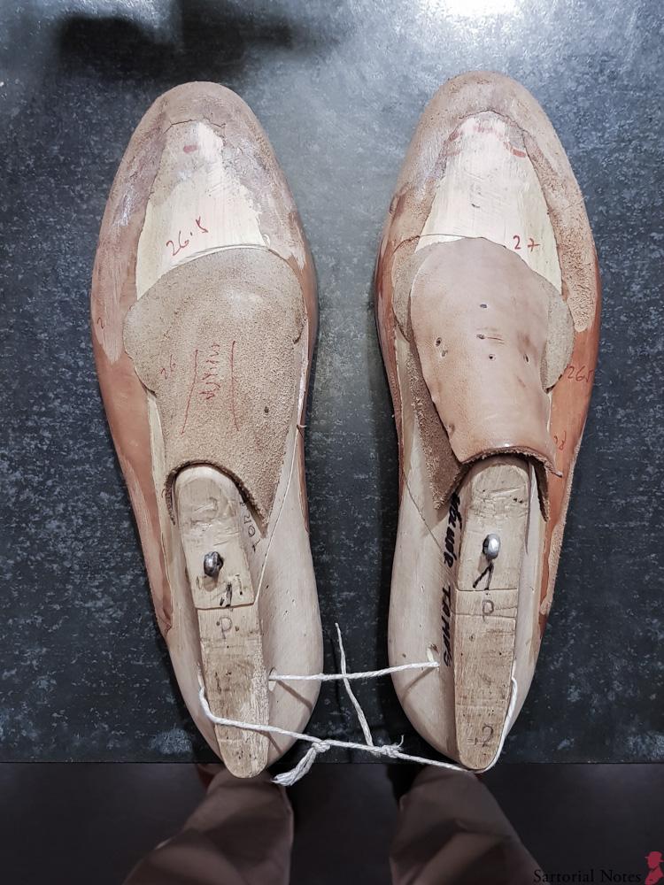 budapest bespoke shoes lasts Vass