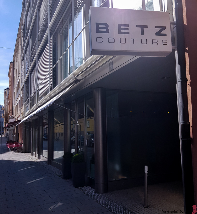 Dieter Betz Munich shopping men