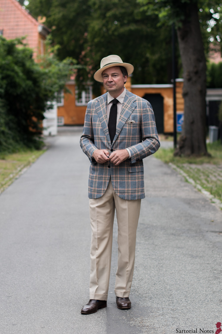 An Example of a Bespoke Picnic Attire for Men