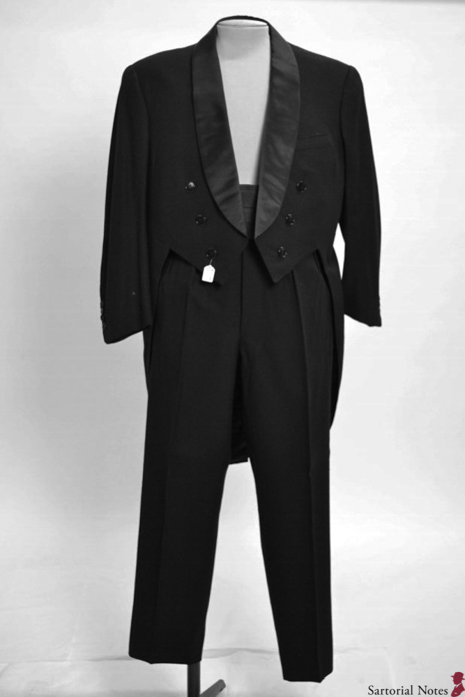 tailcoat from tailor larsen