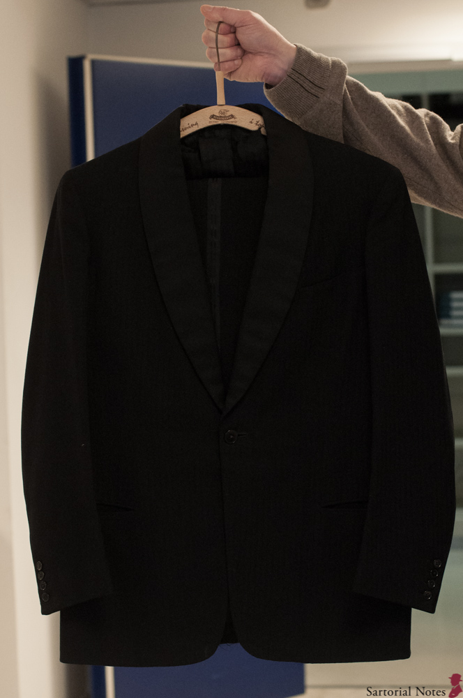 tailor larsen in paris dinner jacket