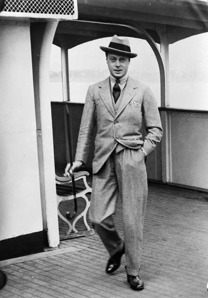 history of the suit duke of windsor