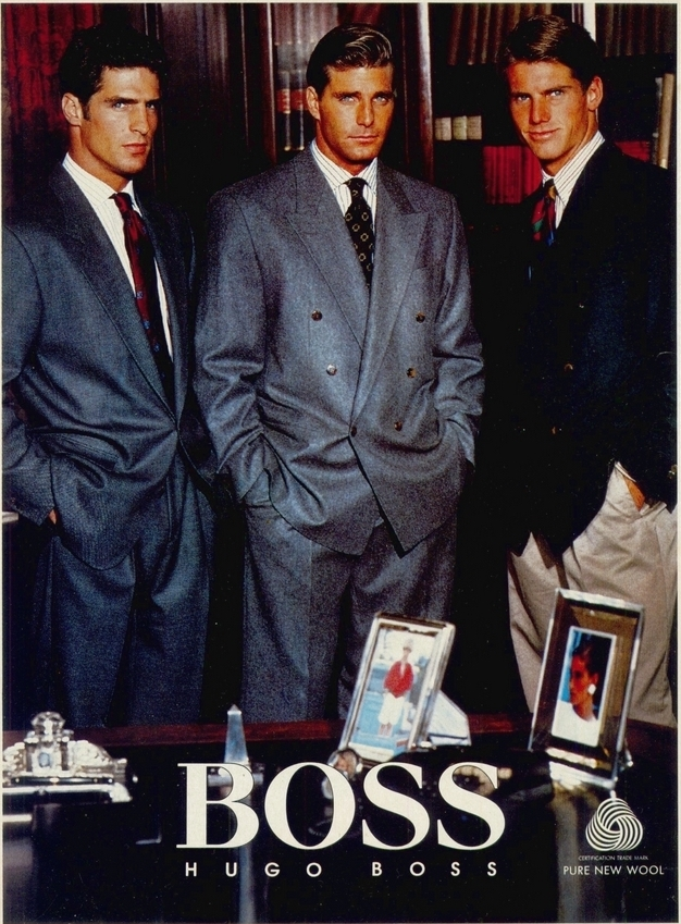 hugo boss power suits
