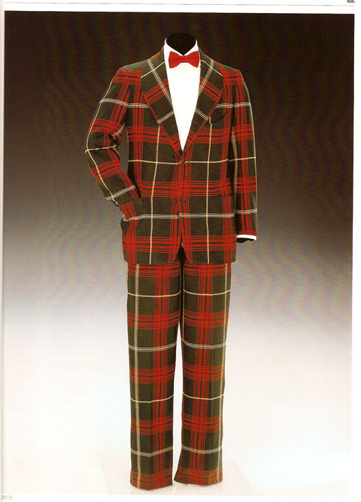Tartan Plaid Dinner Jacket duke of windsor