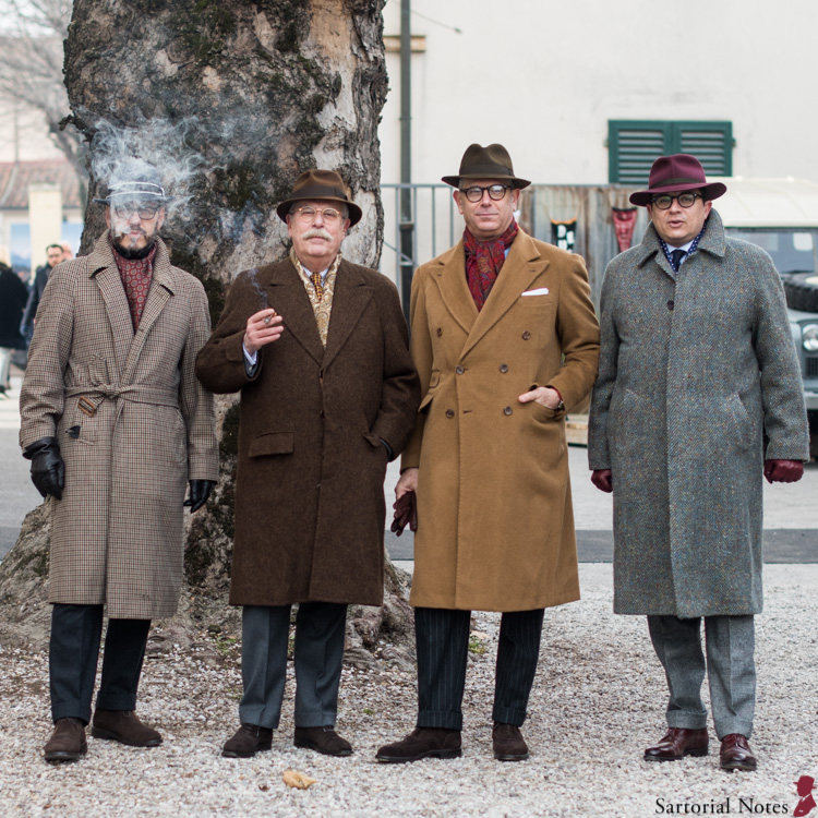 Fantastic four of sartorial menswear