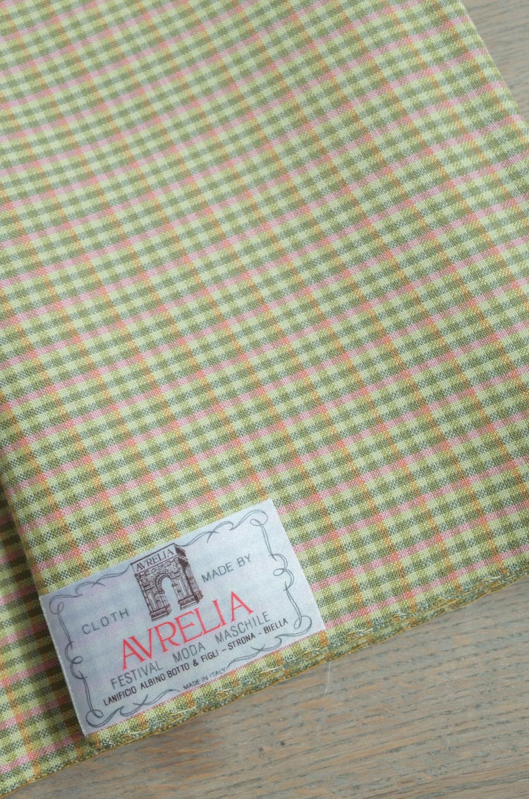 vintage fabric for jacket