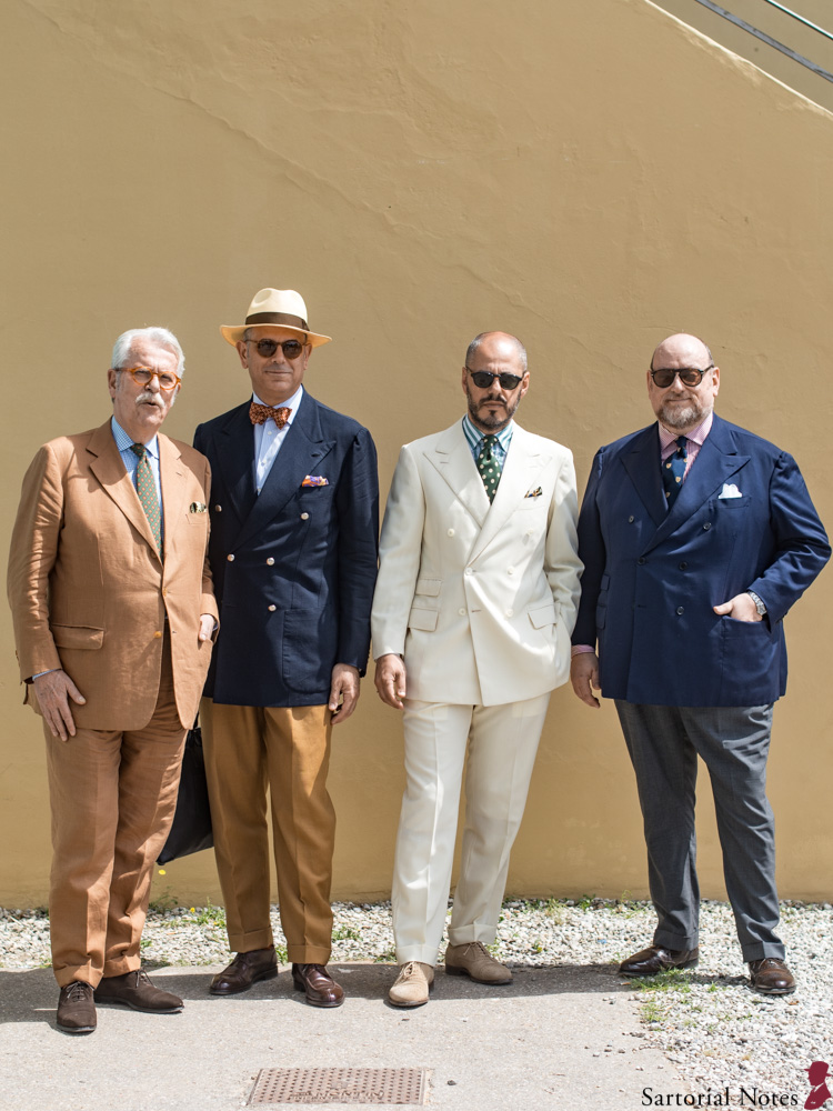 Pitti Uomo 96 classic style suits