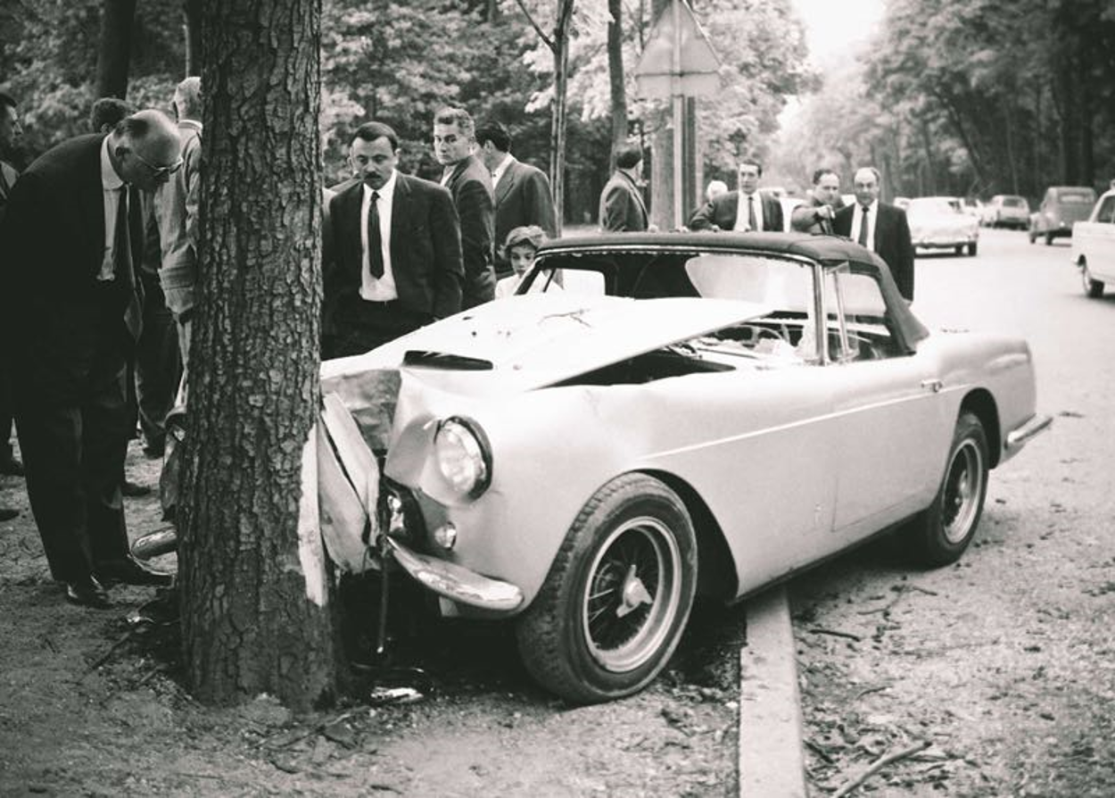 Porfirio Rubirosa car car crash